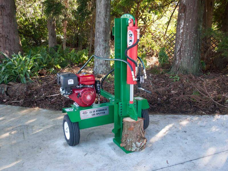 DEK 32 Ton Petrol Log Splitter – 15hp engine