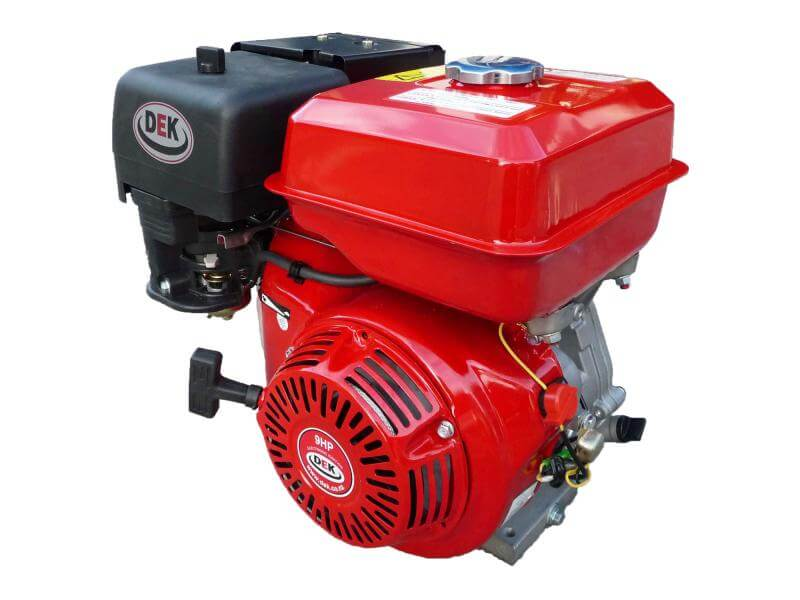 DEK 9hp Petrol Engine 2:1 Reduction