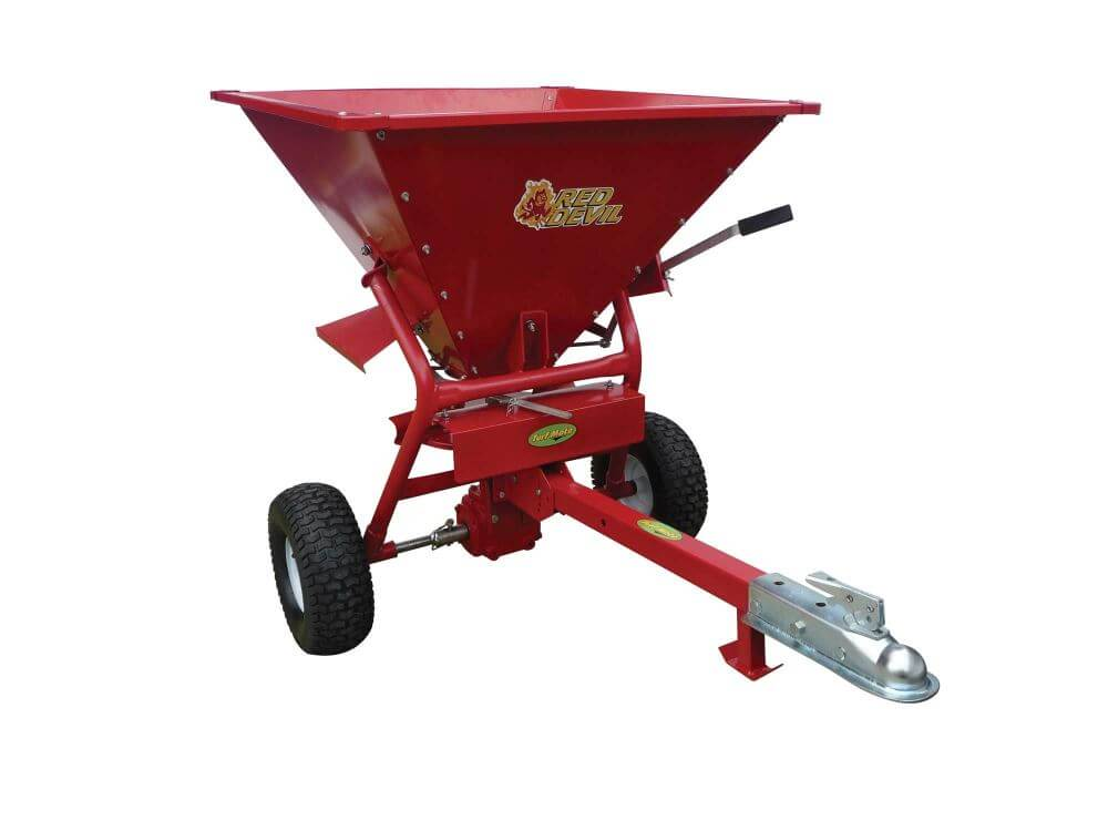 Turf Mate 170kg Red Devil Spreader